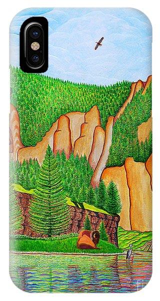 Smith River Montana IPhone Case