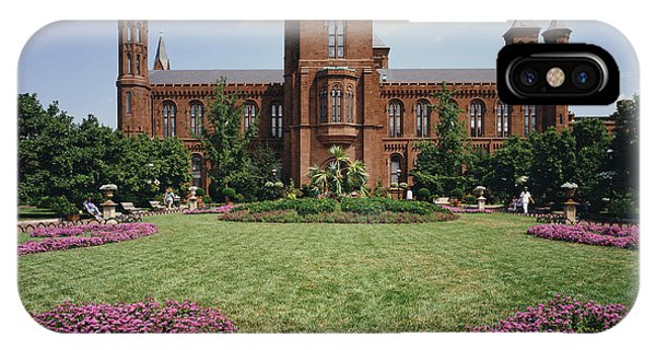 Smithsonian Institution Building IPhone Case