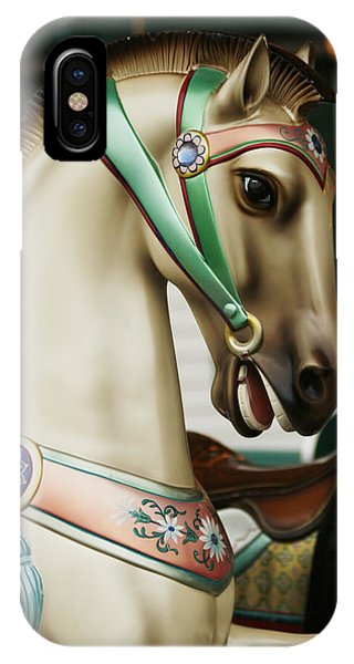 Smithville Carousel Horse I IPhone Case