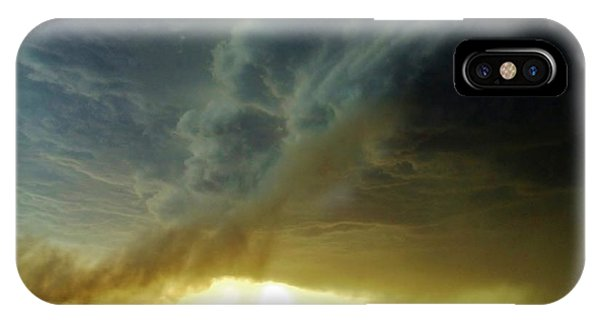 Smoke And The Supercell IPhone Case