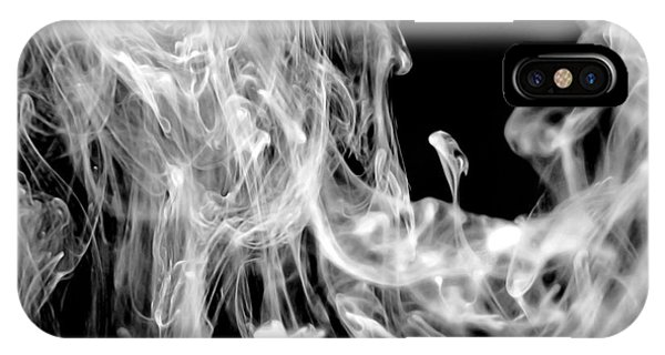 Smoke In The Water IPhone Case