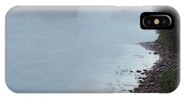 Smoke On The Water IPhone Case