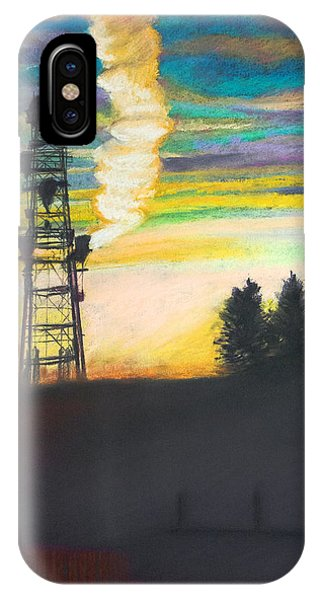 IPhone Case featuring the photograph Smoke Signals by David Phoenix