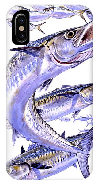 Skipjack iPhone Case - Smokers by Carey Chen