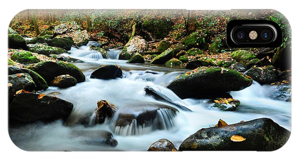 Smokey Mountain Creek IPhone Case