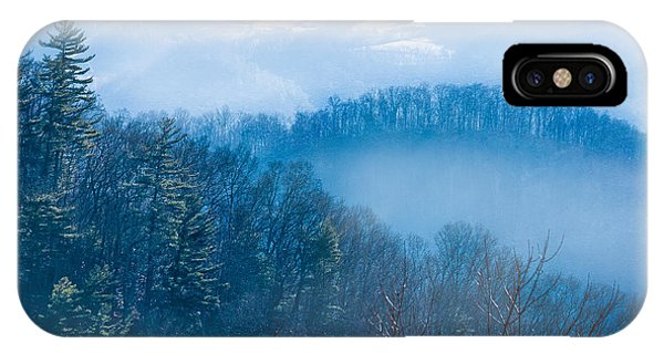 Smokies In Blue IPhone Case