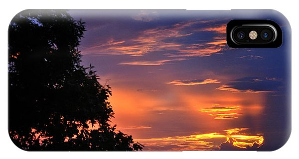 Smokies Sunset 3 IPhone Case