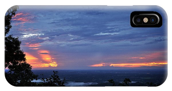 Smokies Sunset 4 IPhone Case