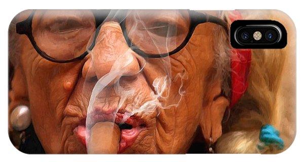 Smoking - Caribbean Serie IPhone Case