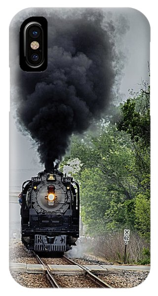 Smoking Locomotive IPhone Case