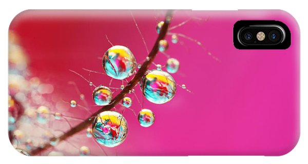 Smoking Pink Drops IPhone Case