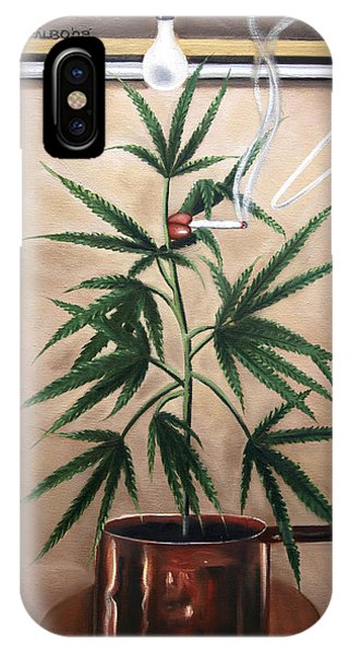 Smoking Section IPhone Case