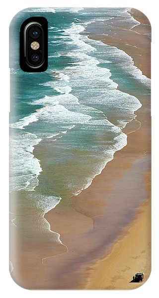 Shore iPhone Case - Smoky Cape by Robert Oates