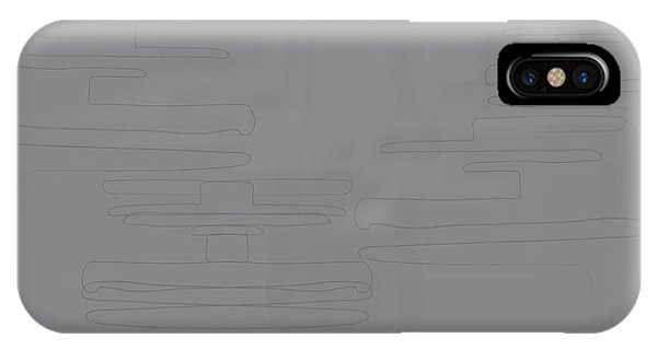 Smoky Cliff IPhone Case