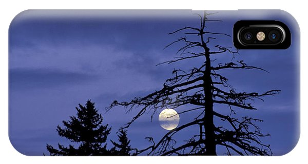 Smoky Moon IPhone Case