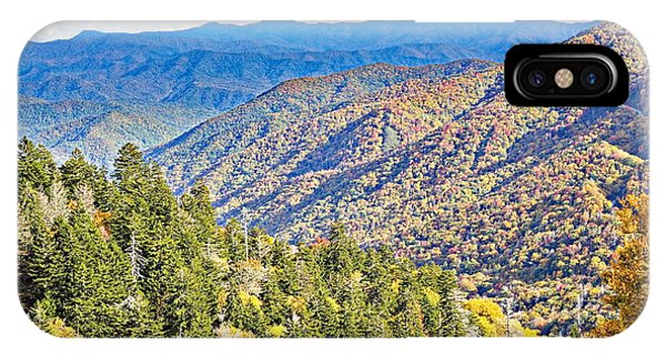 Smoky Mountain Autumn Vista IPhone Case