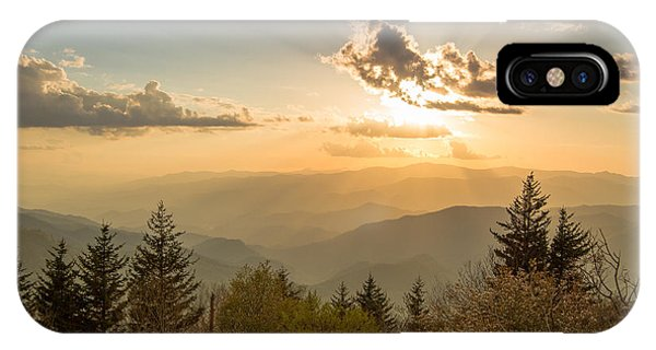 Smoky Mountain Splendor IPhone Case