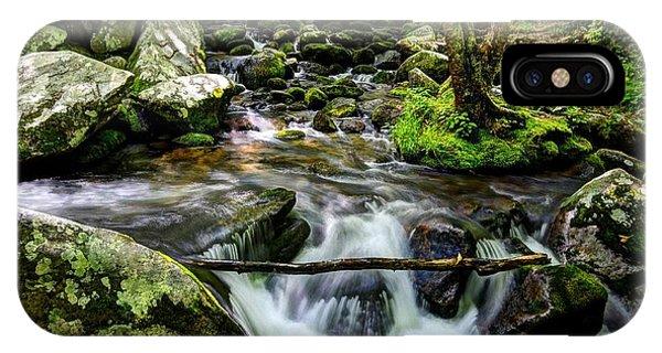 Smoky Mountain Stream 4 IPhone Case
