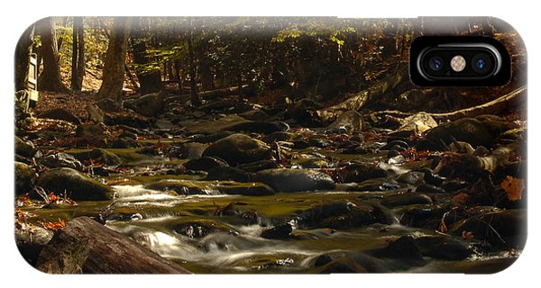 Smoky Mountain Stream IPhone Case