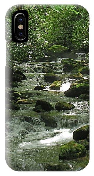 Smoky Mountain Stream IPhone Case