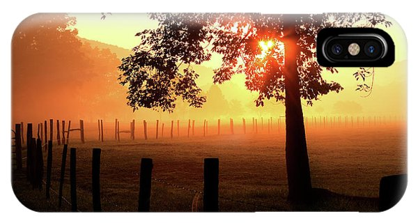 Smoky Mountain Sunrise IPhone Case