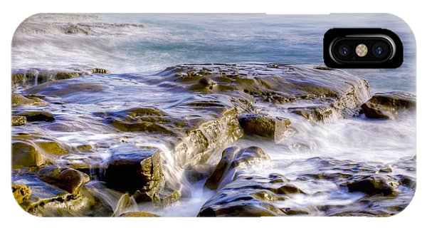 Smoky Rocks Of La Jolla IPhone Case