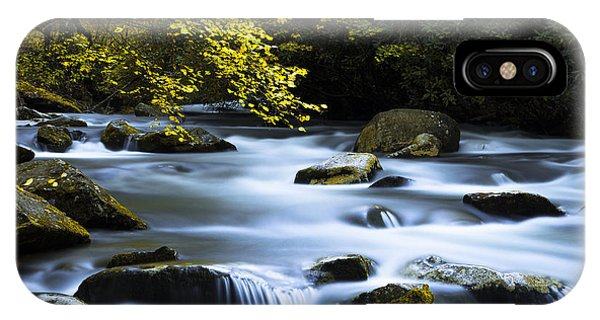 Creek iPhone Case - Smoky Stream by Chad Dutson