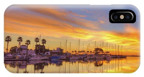 Smyrna Yacht Club Sunrise II Phone Case by Danny Mongosa