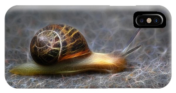 Snail Dreams IPhone Case