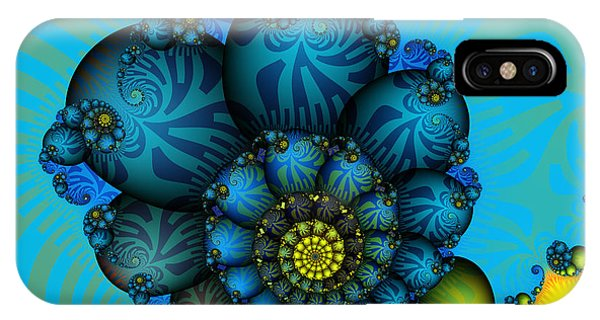 Snail Mail-fractal Art IPhone Case