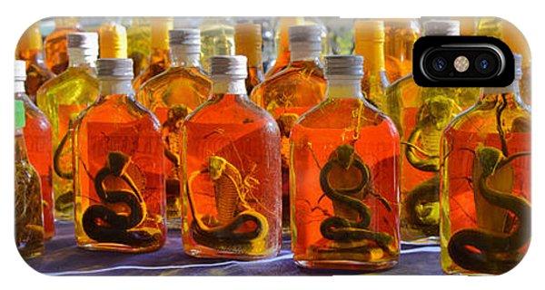 Snake Whiskey IPhone Case
