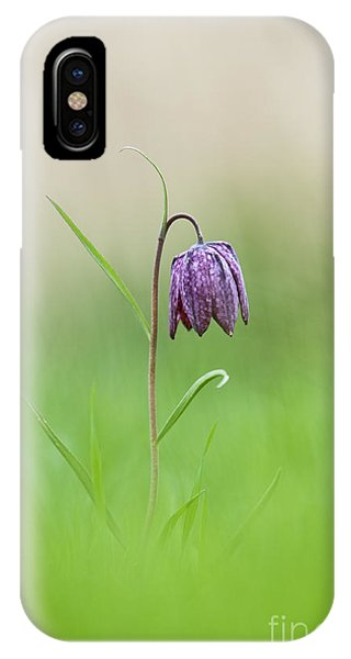 Snakes Head Fritillary Shallow Dof Phone Case by Tim Gainey