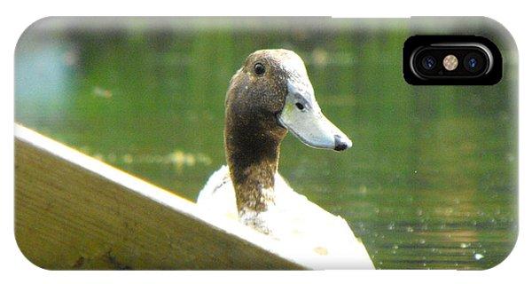 Snooping Duck IPhone Case