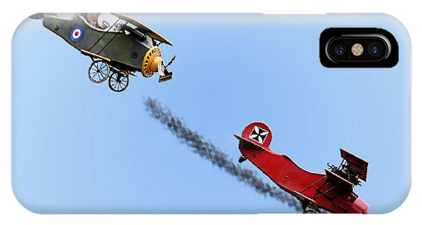 Snoopy And The Red Baron IPhone Case