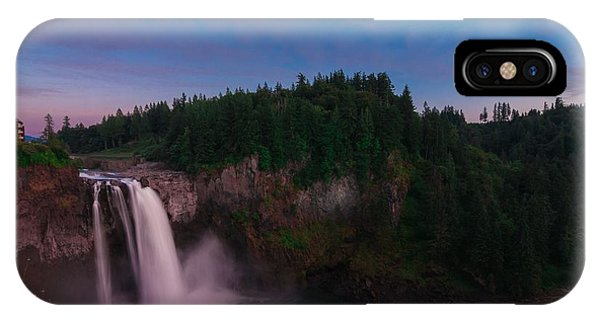 Snoqualmie Falls IPhone Case