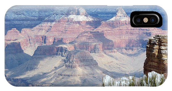 Snow At The Grand Canyon IPhone Case