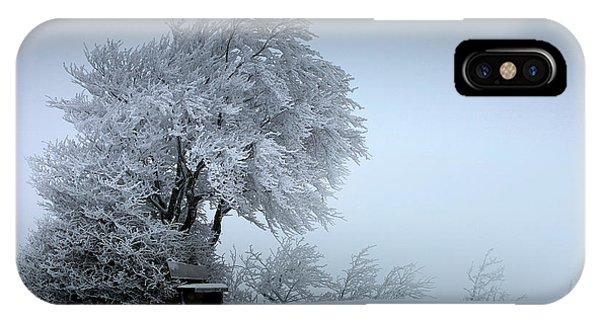 Winter iPhone Case - Snow Bank by Nicolas Schumacher