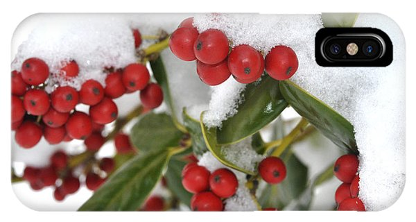 Snow Berries IPhone Case