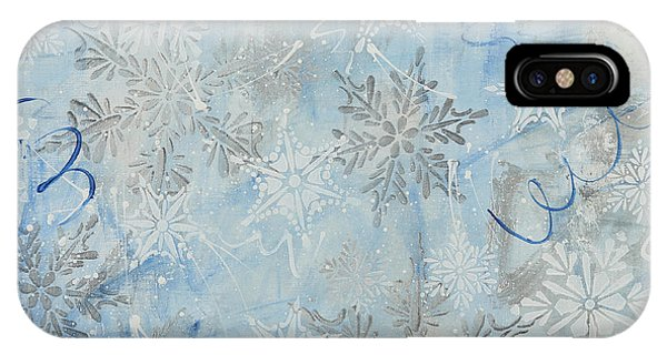 iPhone Case - Snow Day by Julie Acquaviva Hayes