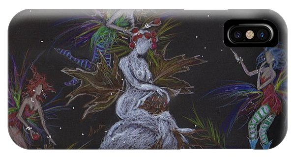 Snow Dryad IPhone Case