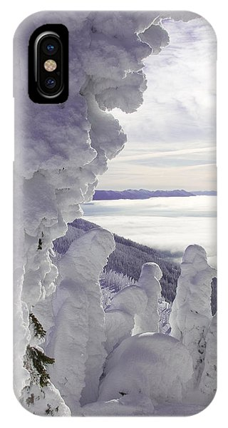 Snow Ghosts Phone Case by Beth Marshall
