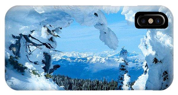 Snow Heart IPhone Case