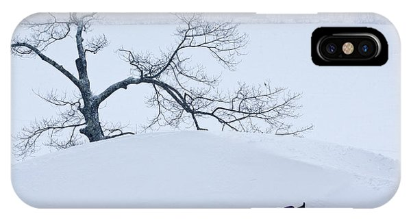 Snow Hill Ride IPhone Case