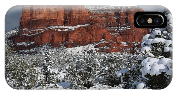 Snow In Sedona IPhone Case