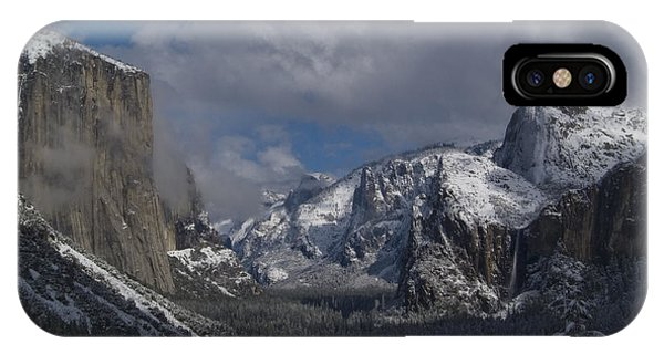 Snow Kissed Valley IPhone Case