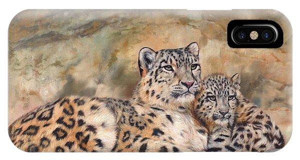 Snow Leopards IPhone Case