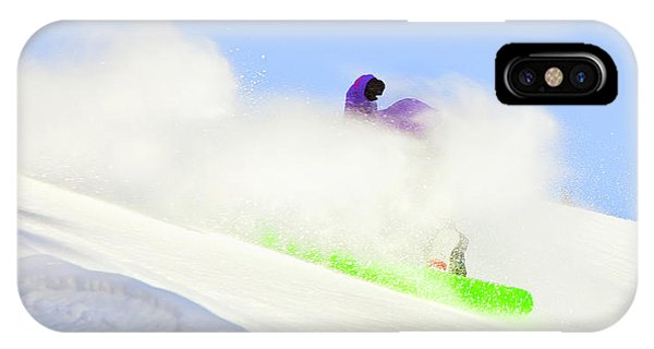 Snow Spray IPhone Case