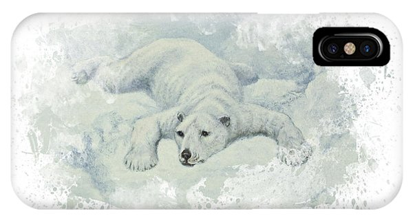Holiday iPhone Case - Snow Storm by Aged Pixel