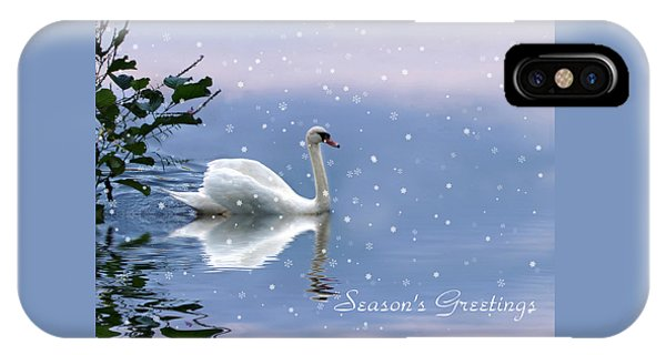 Snow Swan II IPhone Case