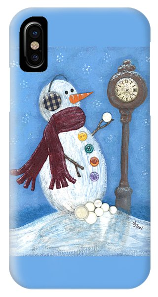 Snow Time IPhone Case